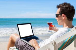 Independent freelancer writing